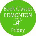 book dance classes Edmonton Green Friday