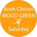 book dance classes Wood Green Saturday