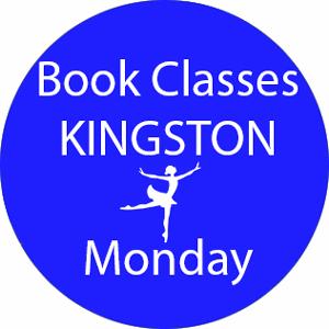 book dance classes Kingston Monday