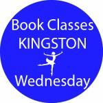 book dance classes Kingston Wednesday