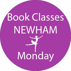 book dance classes Newham Monday