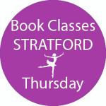 book dance classes Stratford Thursday