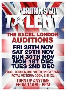 Britain Got Talent London