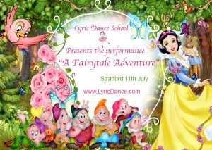 Lyric Dance School performance - A fairytale adventure Stratford 2015