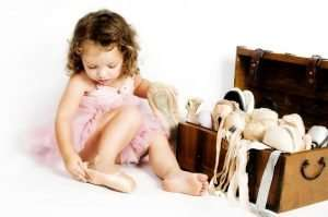 Baby and Toddler Ballet classes in Kingston at Lyric Dance School
