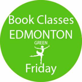 Online dance class booking at Edmonton Green Friday at Lyric Dance school