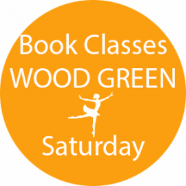 Online dance class booking at Wood Green Saturday at Lyric Dance school