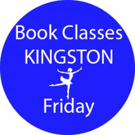 book dance classes Kingston Friday
