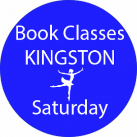 Online dance class booking at Kingston Saturday at Lyric Dance school