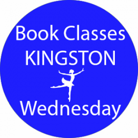 Online dance class booking at Kingston Wednesday at Lyric Dance school