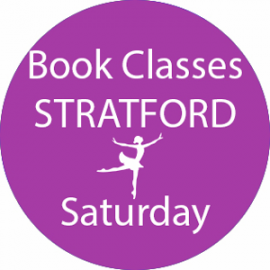 Online dance class booking at Stratford Saturday at Lyric Dance school