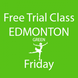 Online FREE trial class booking at Edmonton Friday at Lyric Dance school
