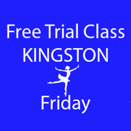 Online FREE trial class booking at Kingston Friday at Lyric Dance school