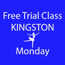 Online FREE trial class booking at Kingston Monday at Lyric Dance school