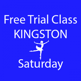 Online FREE trial class booking at Kingston Saturday at Lyric Dance school