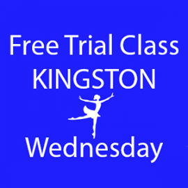 Online FREE trial class booking at Kingston Wednesday at Lyric Dance school