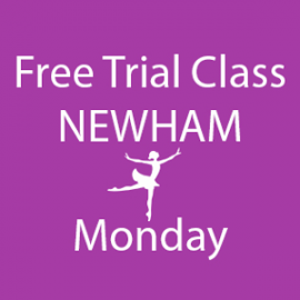 Online FREE trial class booking at Newham Monday at Lyric Dance school