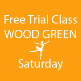 Online FREE trial class booking at Wood Green Saturday at Lyric Dance school